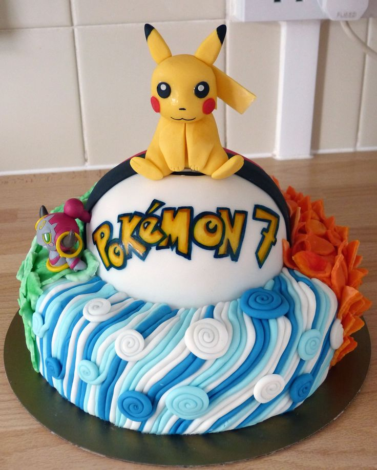 how to make a pokemon birthday cake