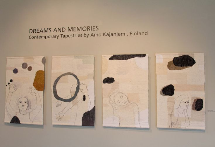 Dreams & Memories: Contemporary Tapestries by Aino Kajaniemi