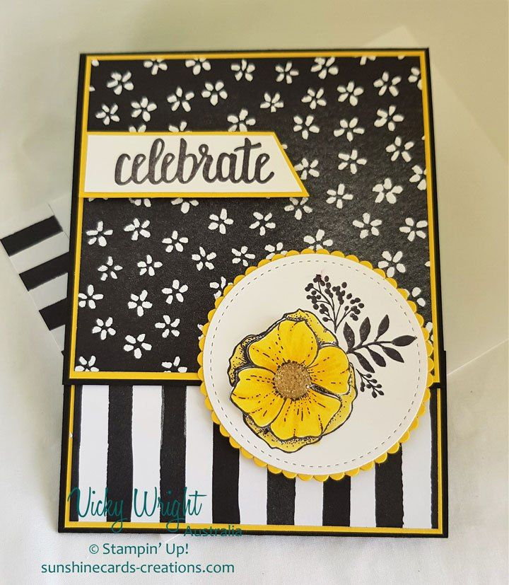 2018 Occasions Catalogue, 2018 SAB, Amazing You Stamp Set, Petal Passion DSP, Free Tutorial, Stampin' UP!