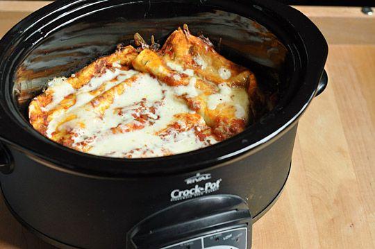 Crockpot enchiladas.