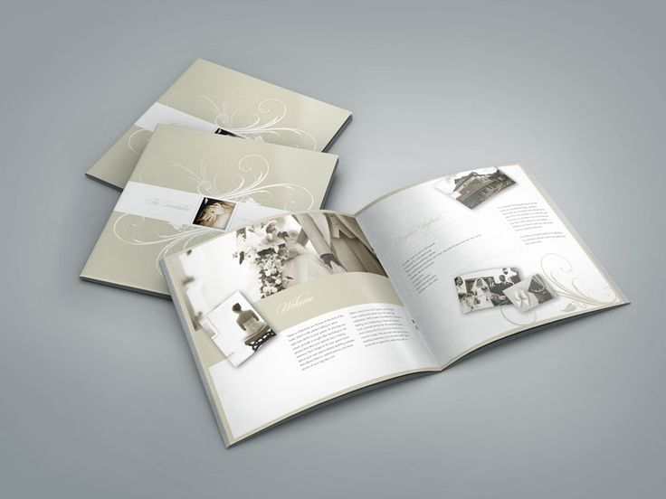 7 best Wedding brochure images on Pinterest | Brochure design ...