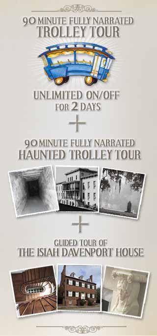 Deluxe Haunted Savannah Tour