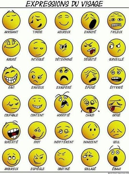 FLE : Vocabulaire des sentiments | POURQUOI PAS... EN FRANÇAIS ? | Scoop.it