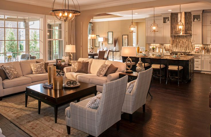 Drees Homes Colinas II A Family Room open to kitchen
