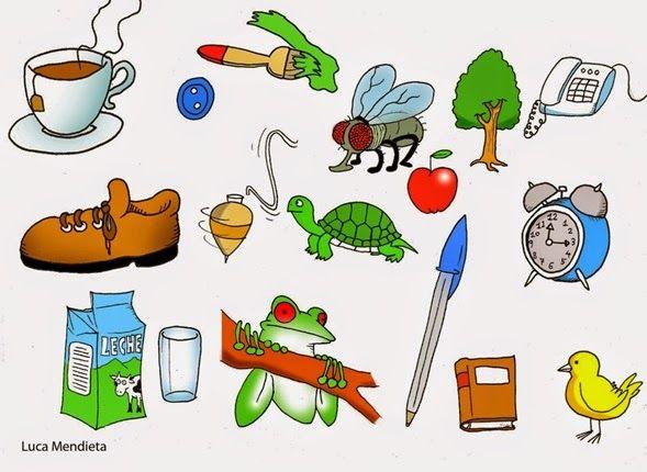Resultado de imagen de dibujos seres vivos y seres inertes