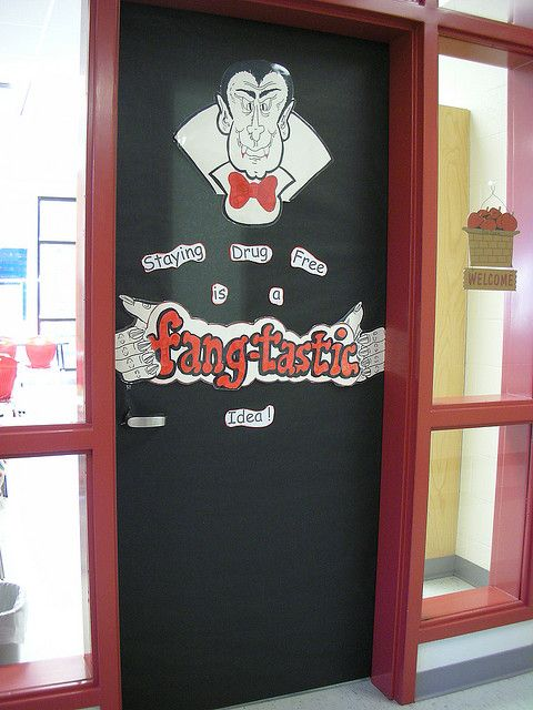 149 Best Red Ribbon Week Door Decorating Ideas Images On