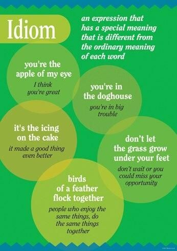 346 Best English Idioms Images On Pinterest Learning English