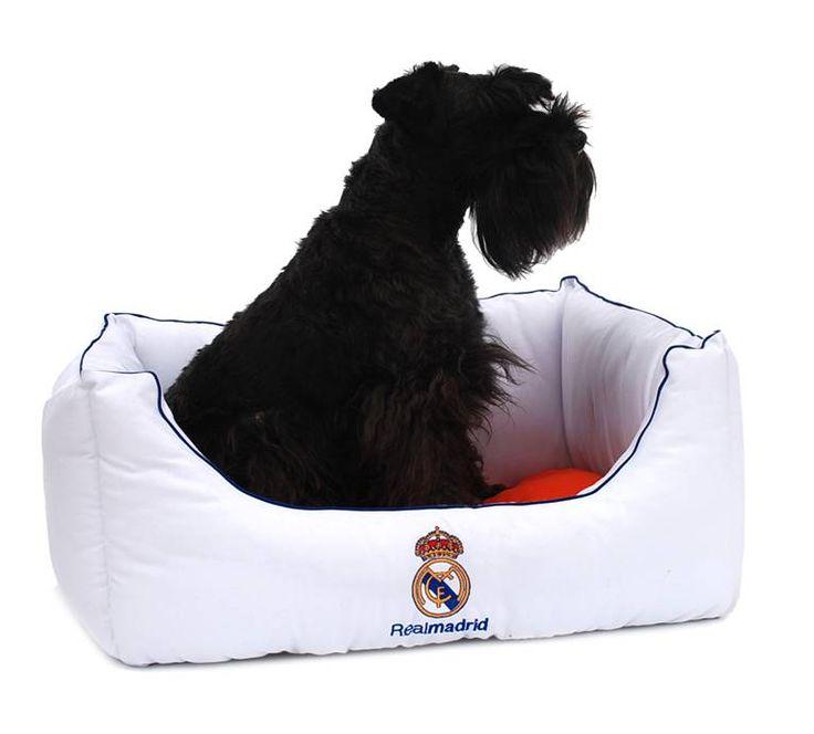 Camas del Real Madrid para perros. Cuna y colchones. Licencia Oficial Real Madrid. www.adiosamigo.es/tienda