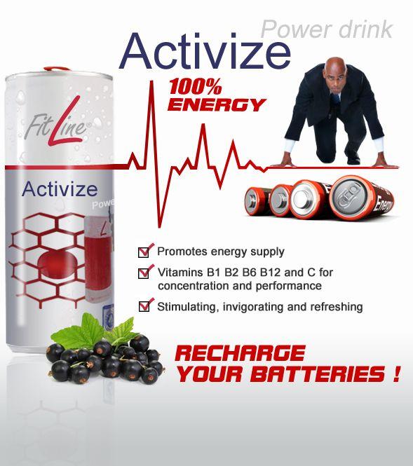 100% Energy, Recharge your life