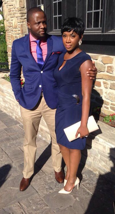 Couple fashion! Wedding guest attire