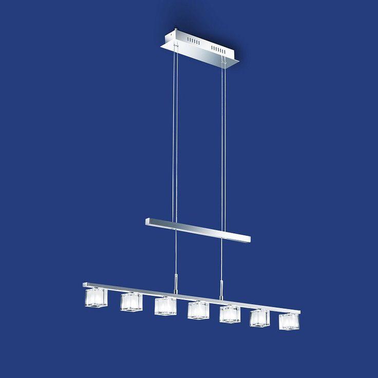 Jetzt 47% Sparen!    Die wunderschöne #Hängeleuchte Cubico aus dem Hause #B-Leuchten ist höhenverstellbar bis maximal 150 cm, womit sie das Licht nach ihren Wünschen bequem in die Höhe über ihren Tisch einstellen können. #Beleuchtung