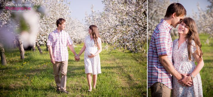 Maternity photoshoot poses ideas in orchard - new parents  pregnancy photography