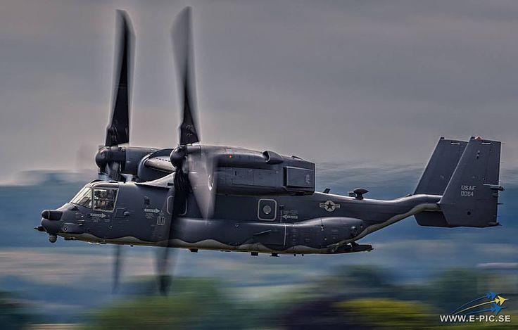 U.S. Air Force CV-22 Osprey #military #armedforces #aircraft #airforce #aviation #usaf #osprey (: @e_pic.se) http://ift.tt/2n2J6n7
