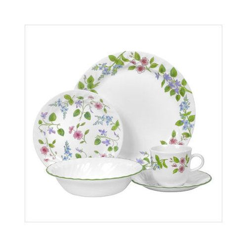 corelle dishes   14) Corelle Lifestyles Linea 20 Piece Dinnerware Set I LOVE THESE DISHES  sc 1 st  Pinterest & 338 best Corelle Dinnerware images on Pinterest   Corelle dishes ...