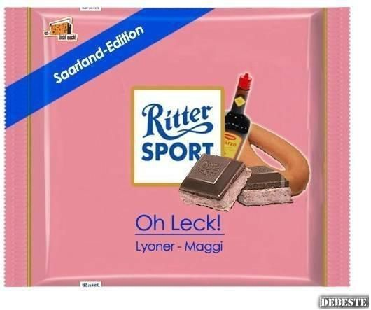 Ritter Sport - Lyoner / Maggi (Saarland-Edition) |