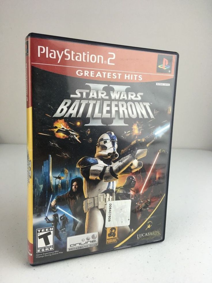Star Wars Battlefront 2 GH (PS2) Cover Art - NO GAME DISK