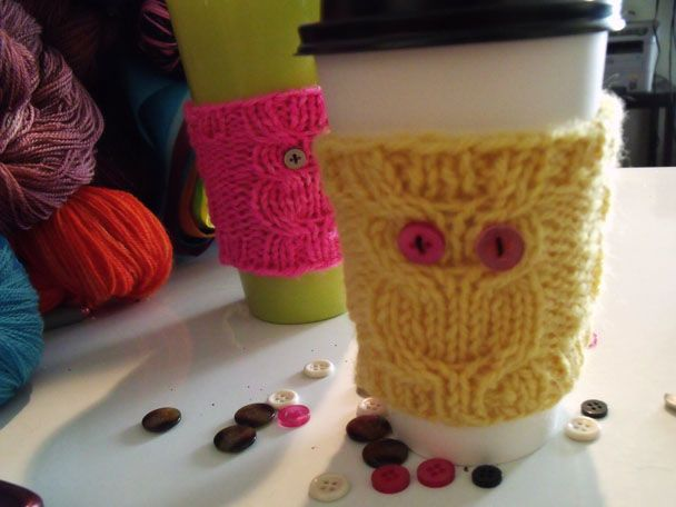 Super cute coffee cozies