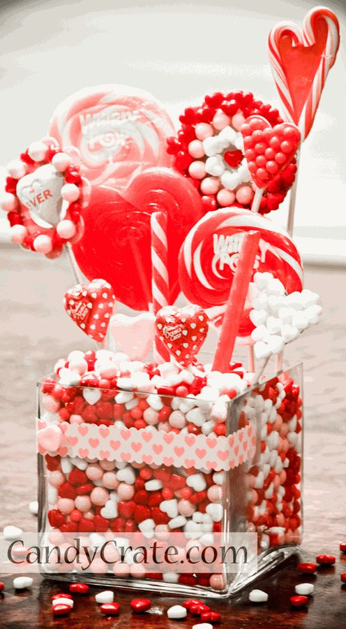 226 best images about valentine 39 s day on pinterest for Valentine candy crafts ideas