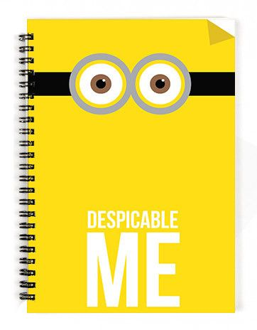 Despicable Me Notebook - 1