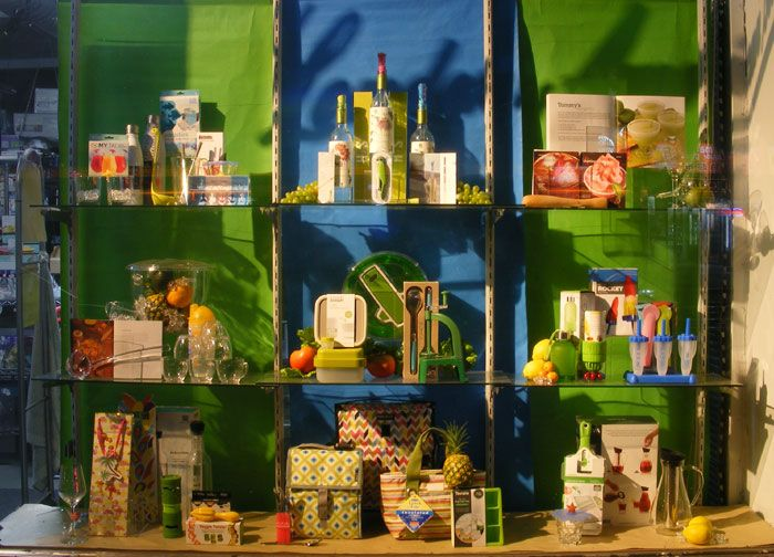 Summer Kitchenware Display and Image by Patricia Denis