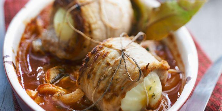 Paupiettes à la sauce provençale