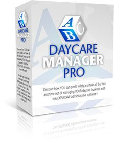 Daycare Management Software....need this to keep track of billing and other stuff. Costs about $50 downloaded to your computer. May be really useful in the future.