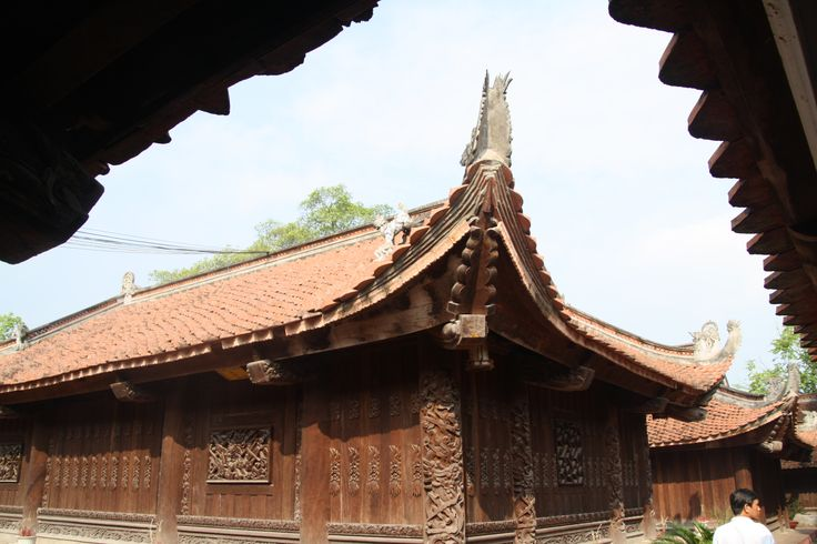 Old roof- Đậu pagoda