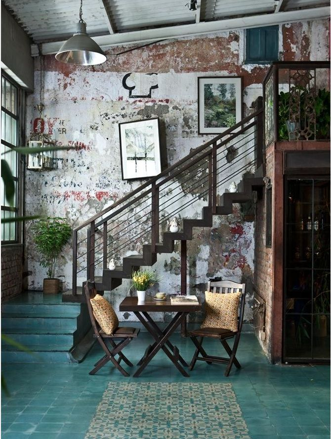 Industrial loft madly in love