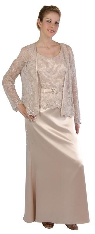 A Designer 2009 Mother Of Bride Gown Great For Wedding Engagement Party Evening 50th Anniversarygolden