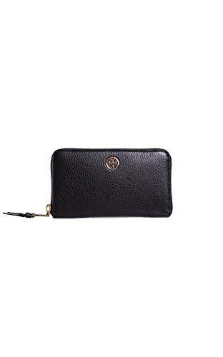 Leather Zip Around Wallet - Crossing Shapes by VIDA VIDA ocRUed