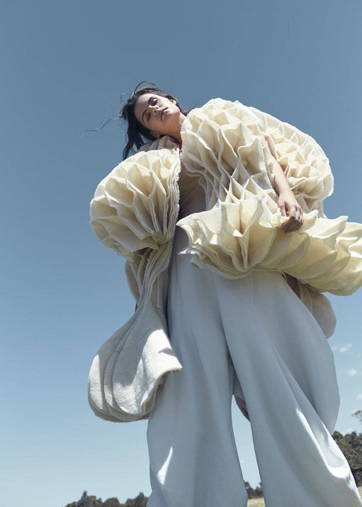 Beautiful 3D Fashion Collection by Zhuxuan He – Fubiz Media