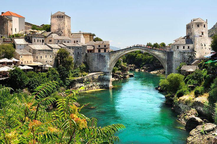 Stari Most   Old Bridge à Hercegovačko-neretvanski kanton, Federacija Bosne i Hercegovine