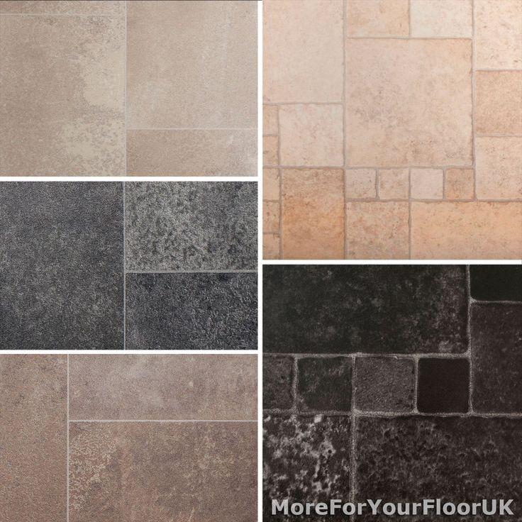28 best images about mosaic pebble tiles etc on pinterest for Tile effect vinyl flooring for bathrooms