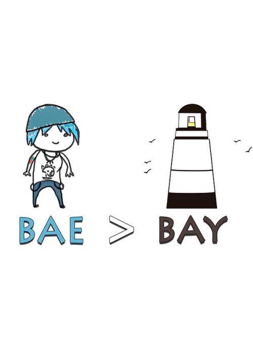 Life is strange ( fan art ): Bae > Bay