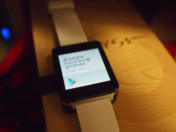 [오케이 구글(ok google)이 되는 LG G watch 개봉기 - 2일째 사용기]