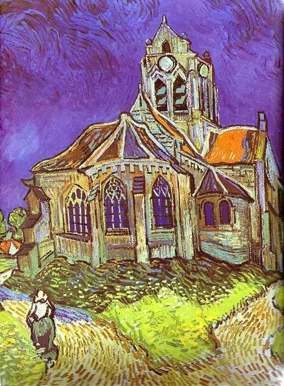 Vincent Van Gogh - La Chiesa di Auvers