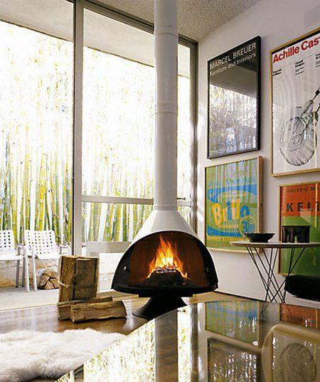 1000 Ideas About Freestanding Fireplace On Pinterest