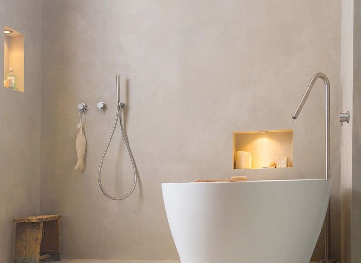LIKE THE SPOUT AND THE BATH SHAPE cocoon-atlantis-corian-free-standing-bath