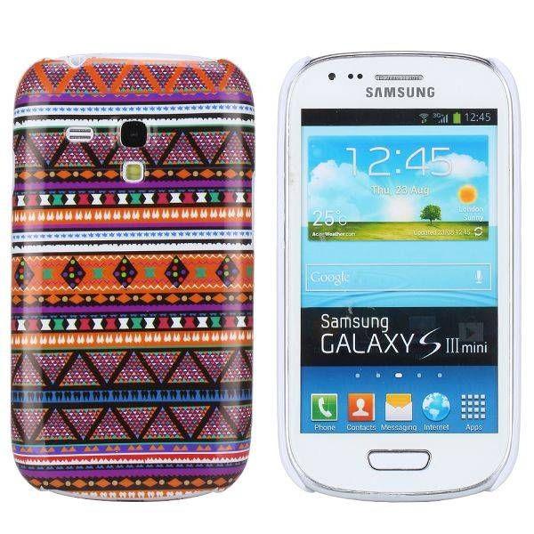Modern aztec stijl hoesje Samsung Galaxy S3 mini