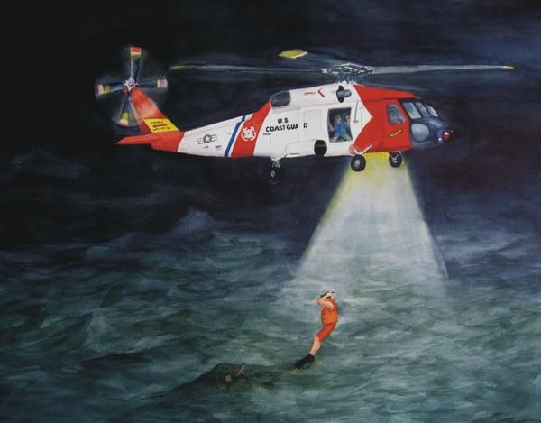 17 Best images about USCG Art on Pinterest