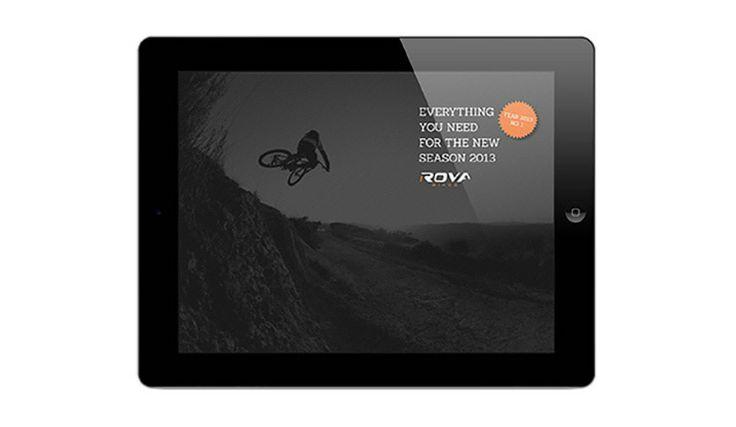 Ontwerp digitale catalogus voor Rova Bikes - Als herboren