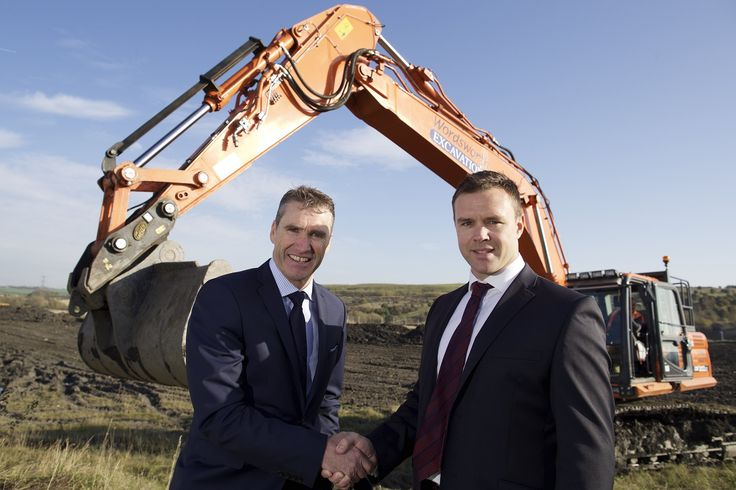 In October 2014 up to 100 new jobs were created at the Sheffield City Region Enterprise Zone as Chesterfield-based packaging and printing specialist inspirepac announced a multi-million pound expansion. Chris Marples of inspirepac with Ed Hutchinson, Director at Henry Boot Developments