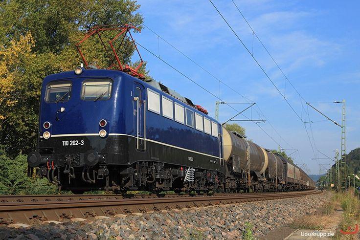 Germany - Freight train DB - 139 262 am 22.09.2016 bei Leubsdorf
