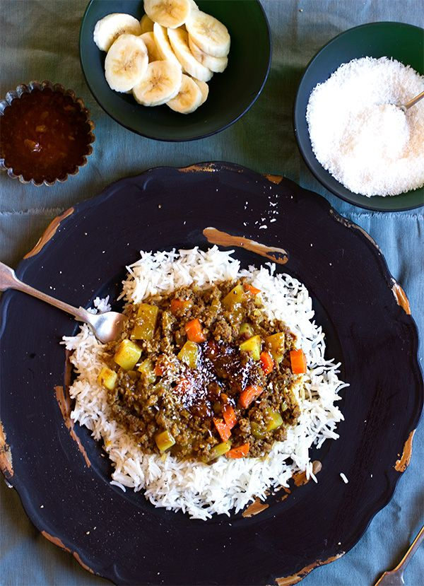 South African Curry & Rice ~ Anina's Recipes