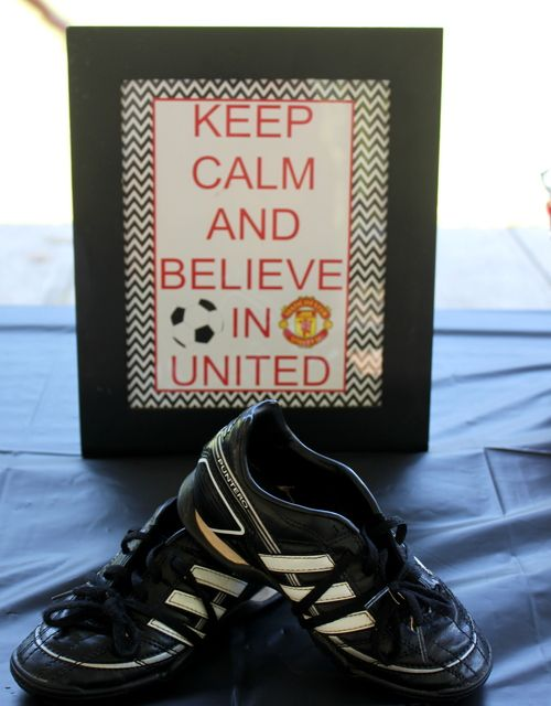 Manchester United Soccer Party Birthday Party Ideas | Photo 6 of 15