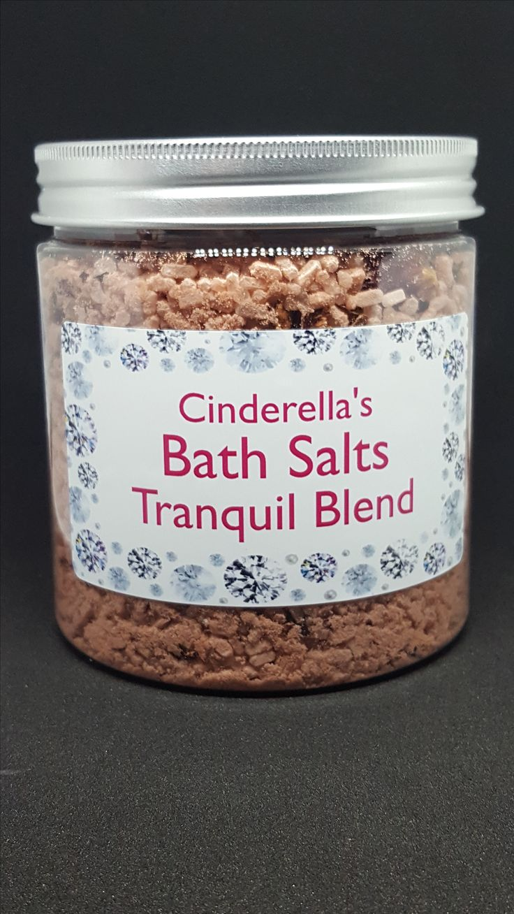 Bath Salts by Cinderella's Handmade Soaps  Australian Made and Owned www.facebook.com/CinderellasHandMadeSoaps.