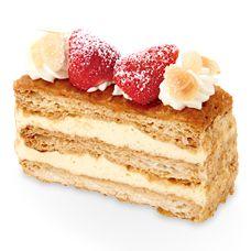 苺のミルフィーユ | ケーキ・洋菓子 | 不二家 http://pinterest.com/itarj