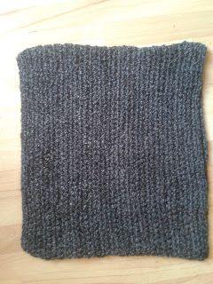 Bits & Bobbles : Easy Crocheted Snood Pattern