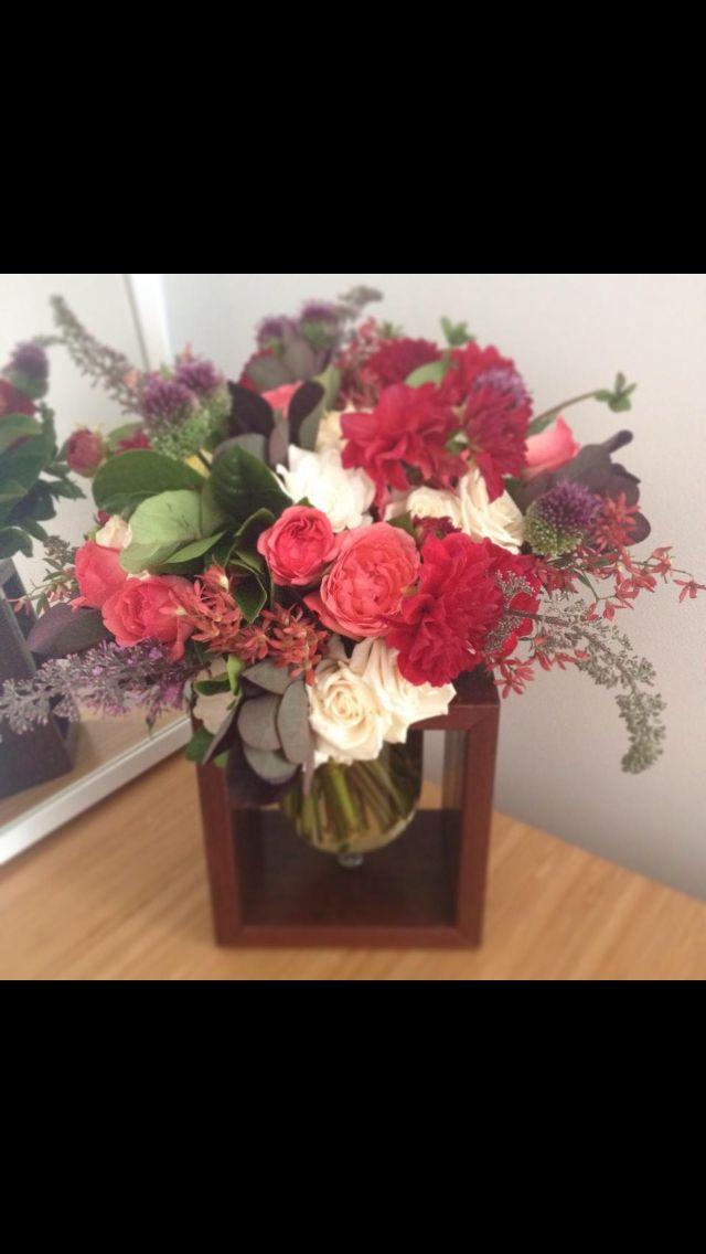 Custom made flower vase box