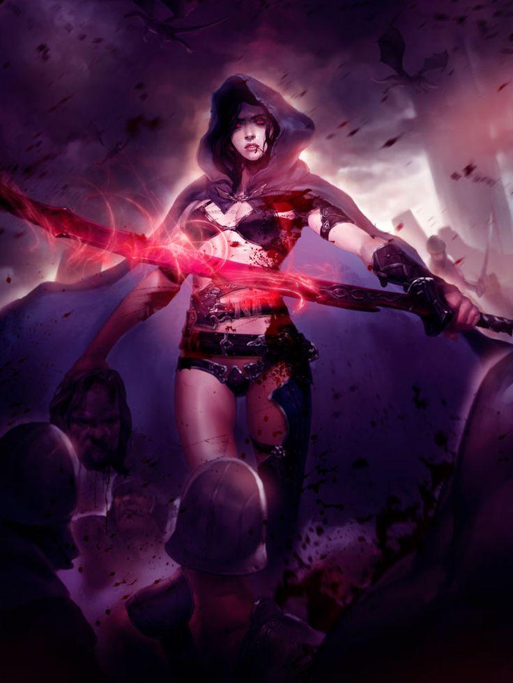 ⛧ Auditions ⛧ 096e35c03bba6e5770df5b8591b85957--art-medieval-fantasy-warrior